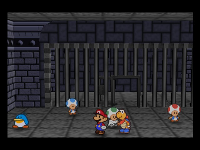 Paper Mario - Location  - Found some prisoners - User Screenshot